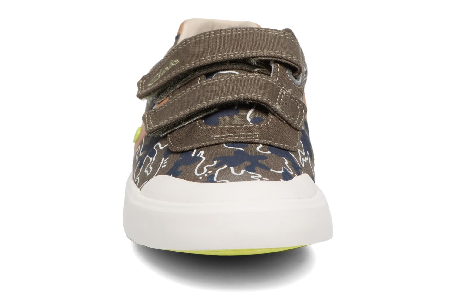 Sneakers Clarks Comic Zone Jnr Groen model