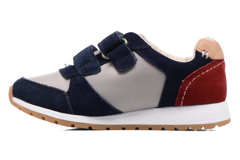 Sneakers Clarks Zest Tex Multicolore immagine frontale