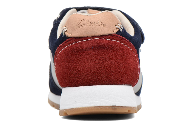 Sneakers Clarks Zest Tex Multicolore immagine destra