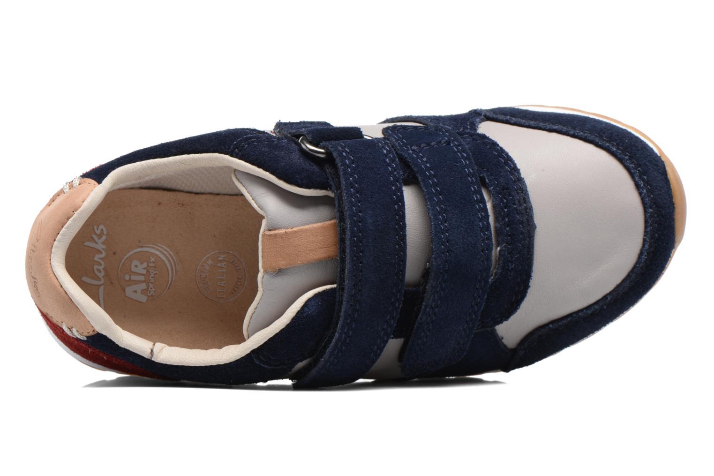 Sneakers Clarks Zest Tex Multicolore immagine sinistra