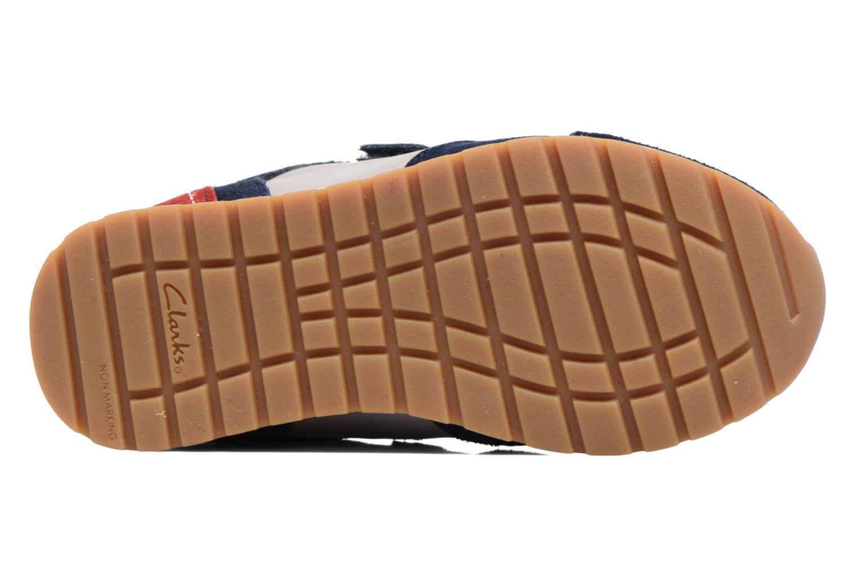 Sneakers Clarks Zest Tex Multicolore immagine dall'alto