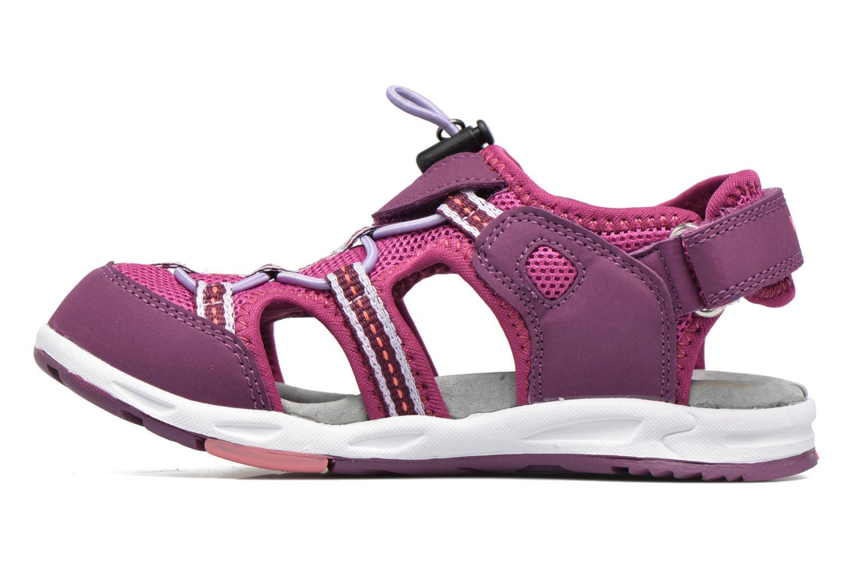 Sandali e scarpe aperte Viking Thrill Viola immagine frontale