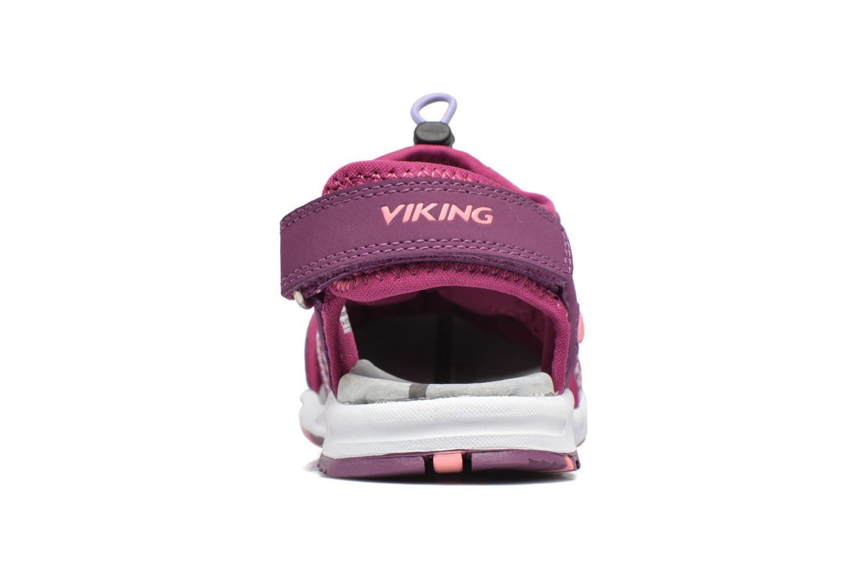 Sandali e scarpe aperte Viking Thrill Viola immagine destra
