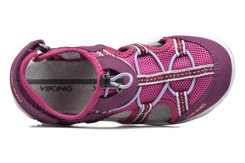 Sandali e scarpe aperte Viking Thrill Viola immagine sinistra