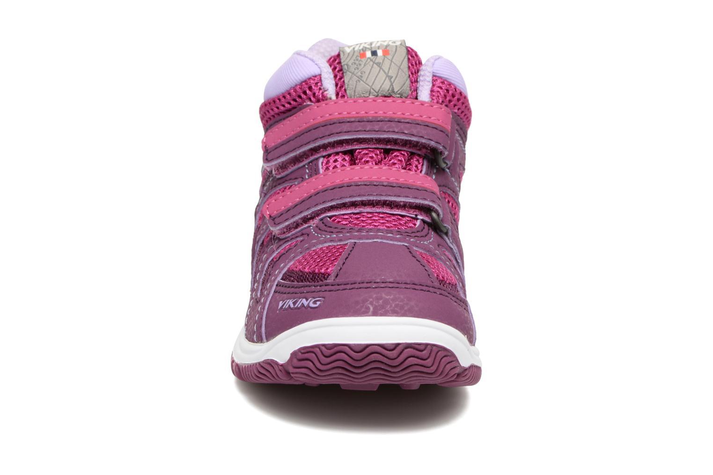 Chaussures de sport Viking Cascade 2 mid GTX Violet vue portées chaussures