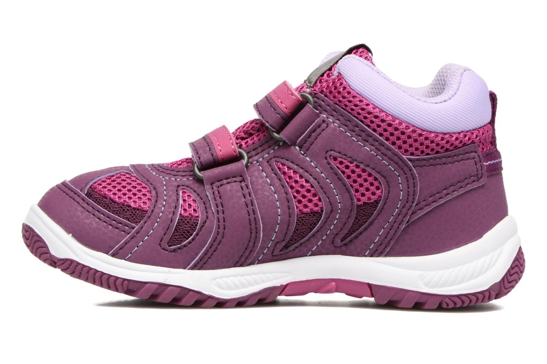 Chaussures de sport Viking Cascade 2 mid GTX Violet vue face