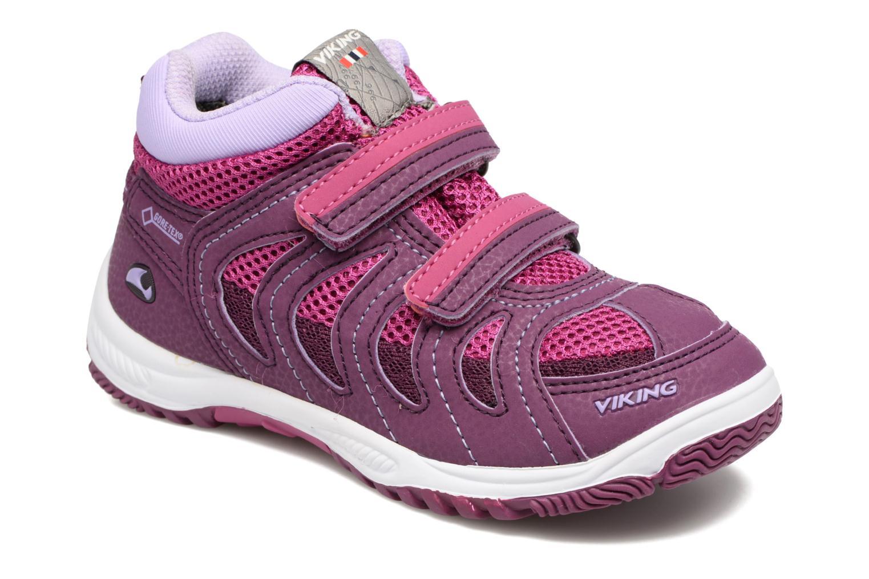 Chaussures de sport Viking Cascade 2 mid GTX Violet vue détail/paire