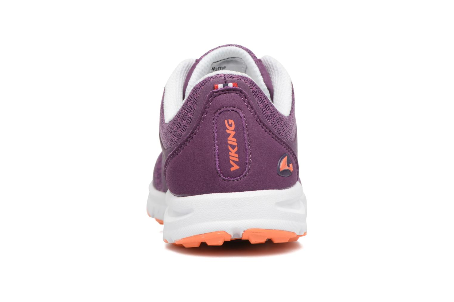 Sport shoes Viking Saratoga II Purple view from the right