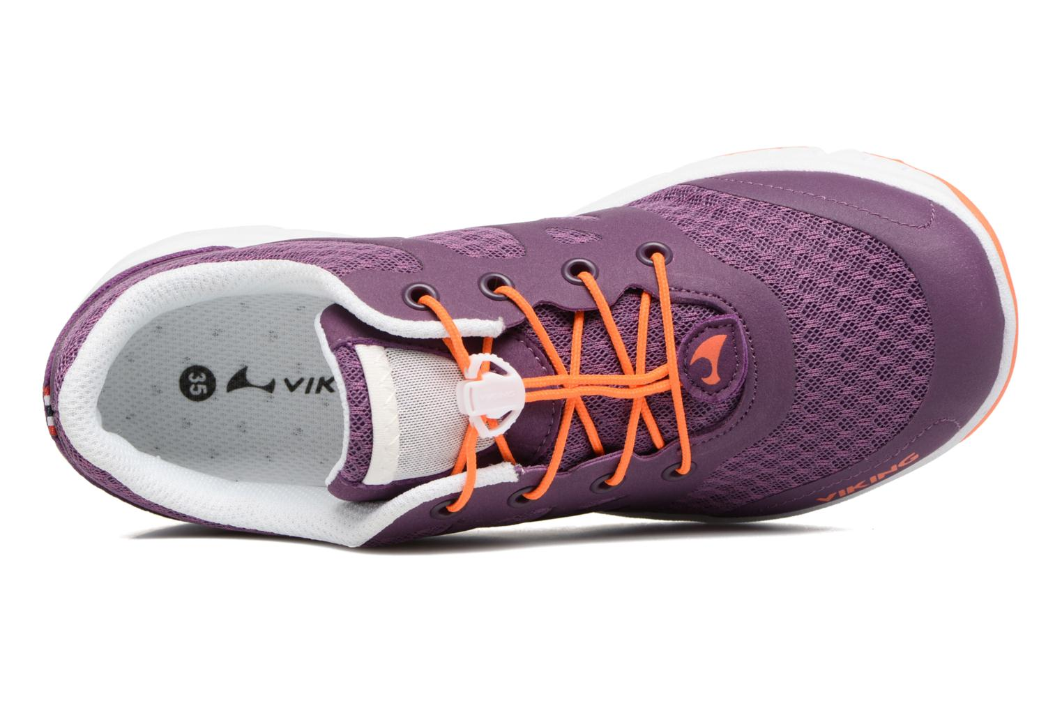 Sport shoes Viking Saratoga II Purple view from the left