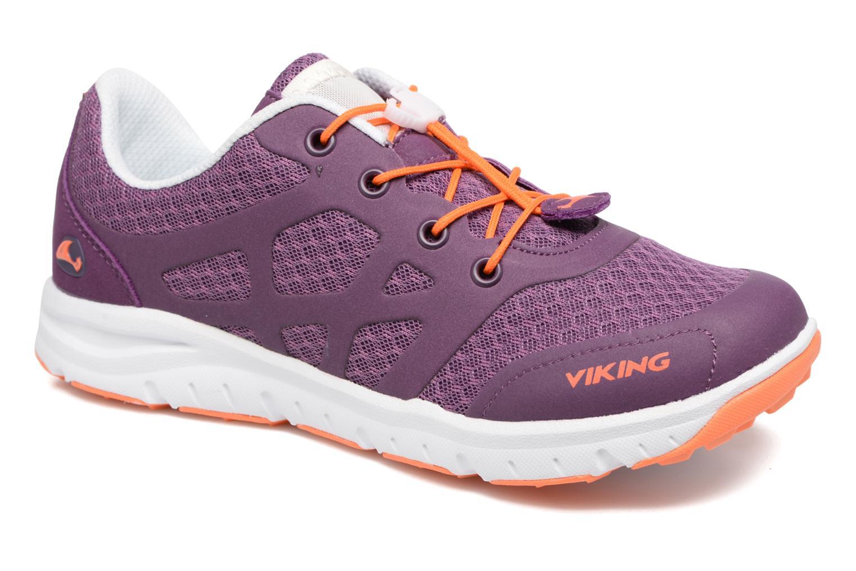 Sport shoes Viking Saratoga II Purple detailed view/ Pair view