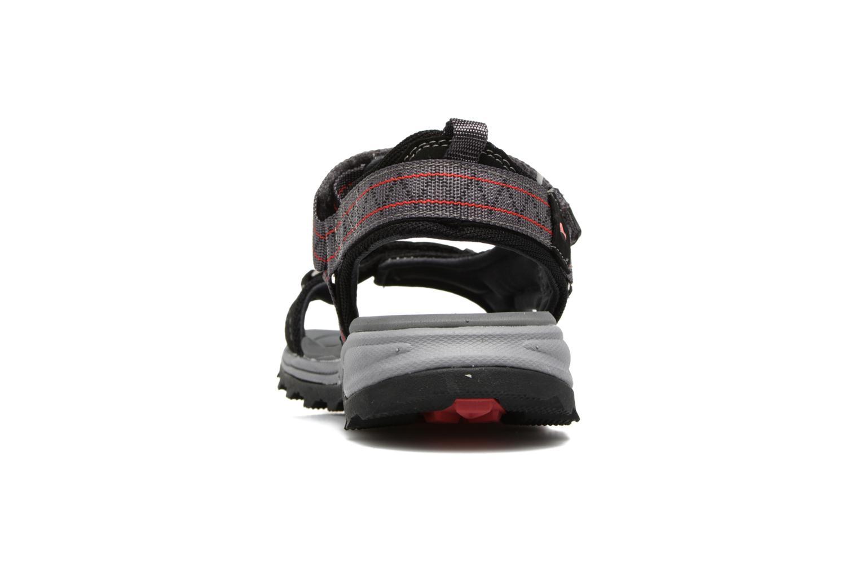 Sandales et nu-pieds Viking Sandoey Noir vue droite