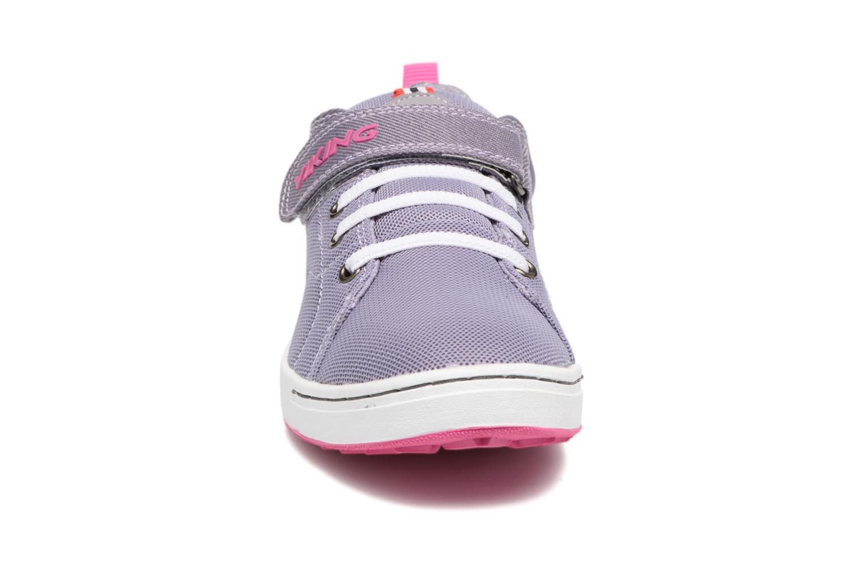 Baskets Viking Frogner Violet vue portées chaussures