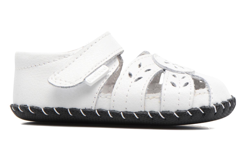 Pantoffels Pediped Daphne Wit achterkant