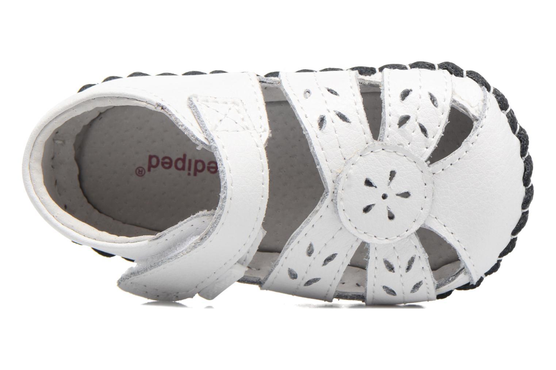 Pantoffels Pediped Daphne Wit links