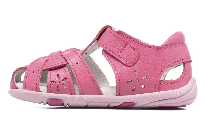 Sandales et nu-pieds Pediped Nikki1 Rose vue face