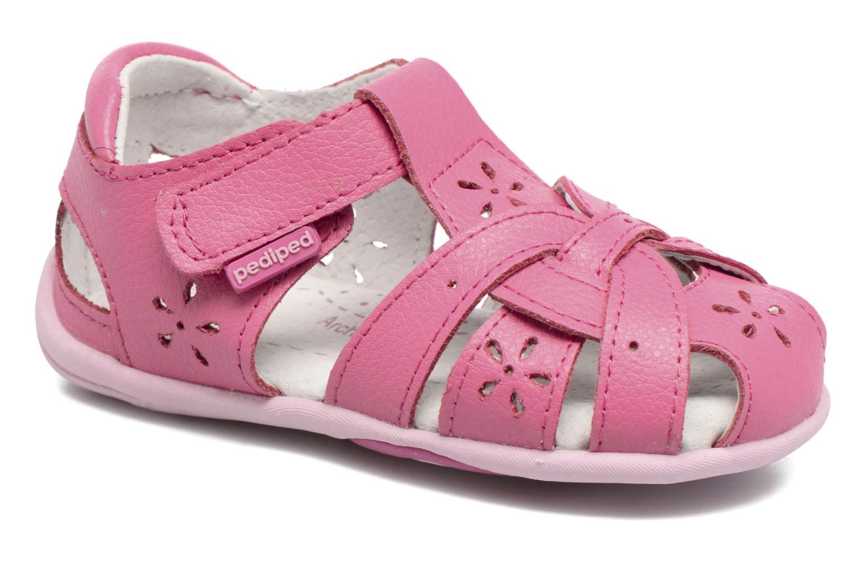 Sandales et nu-pieds Pediped Nikki1 Rose vue détail/paire