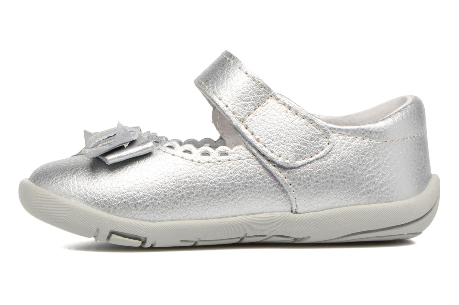Ballerines Pediped Betty1 Argent vue face