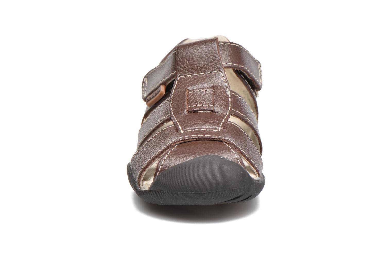 Sandales et nu-pieds Pediped Sydney1 Marron vue portées chaussures