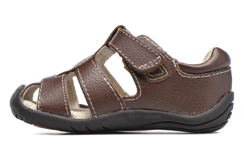 Sandales et nu-pieds Pediped Sydney1 Marron vue face