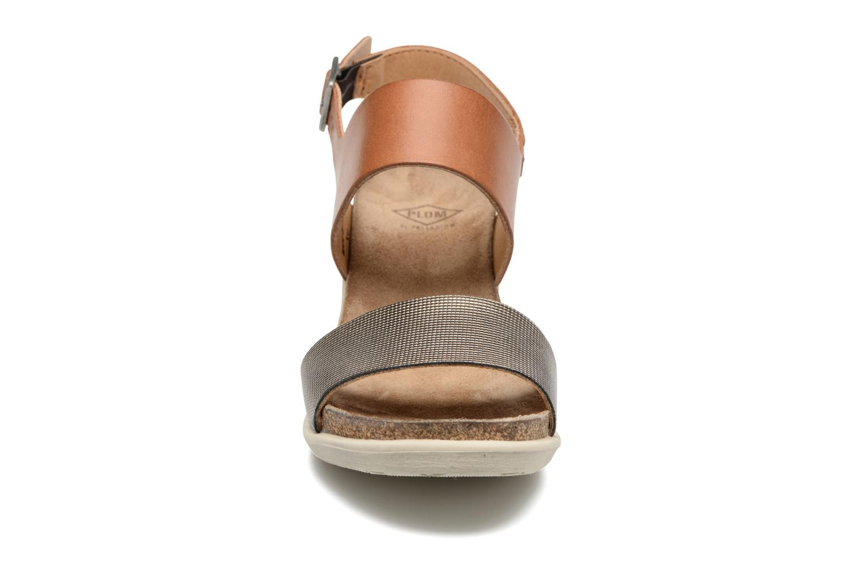 Sandali e scarpe aperte P-L-D-M By Palladium Sheldon Mix Marrone modello indossato