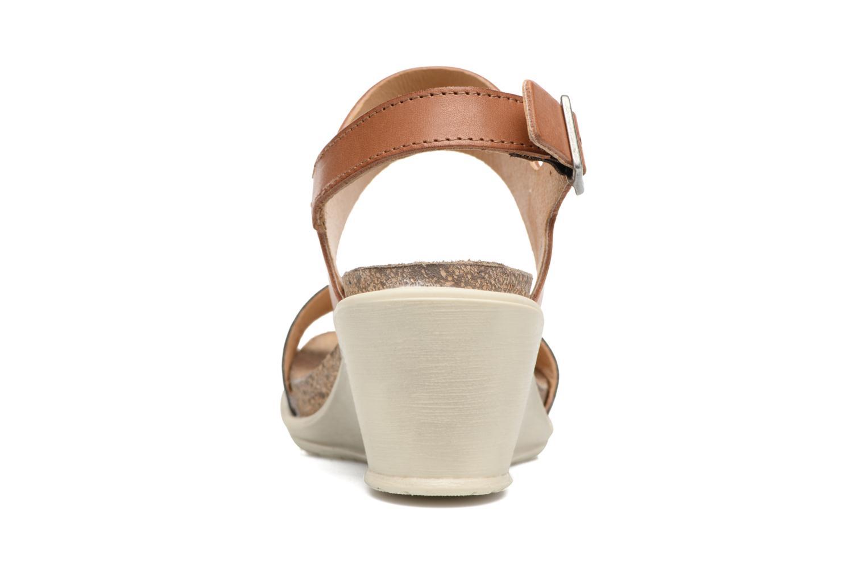 Sandales et nu-pieds P-L-D-M By Palladium Sheldon Mix Marron vue droite