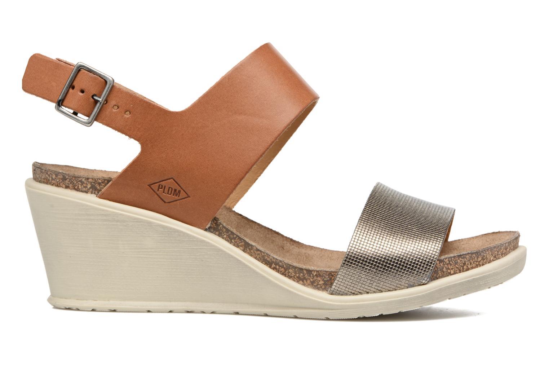 Sandali e scarpe aperte P-L-D-M By Palladium Sheldon Mix Marrone immagine posteriore