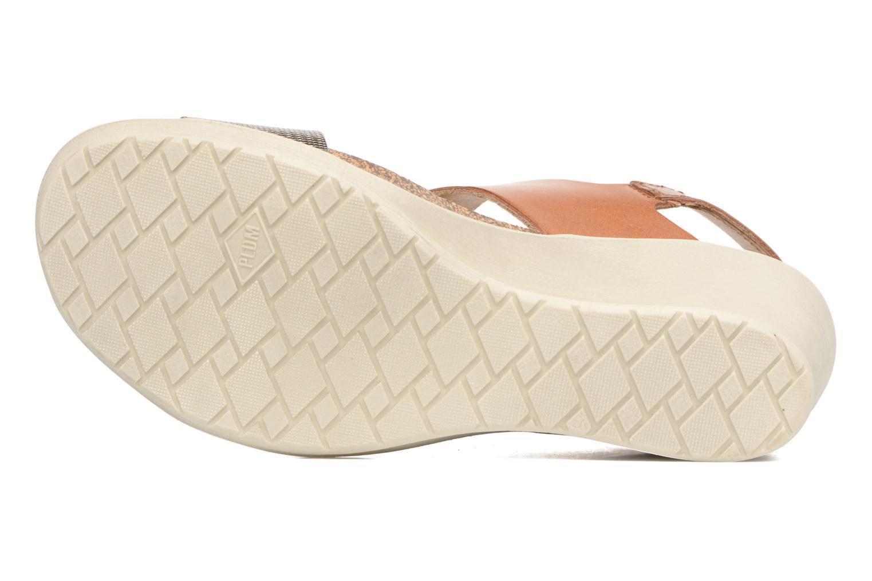 Sandales et nu-pieds P-L-D-M By Palladium Sheldon Mix Marron vue haut