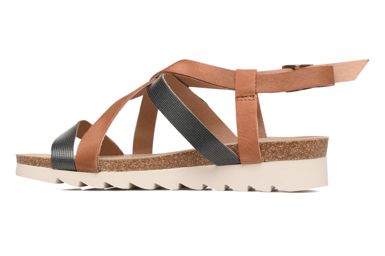 Sandales et nu-pieds P-L-D-M By Palladium Rita Jkt Bleu vue face