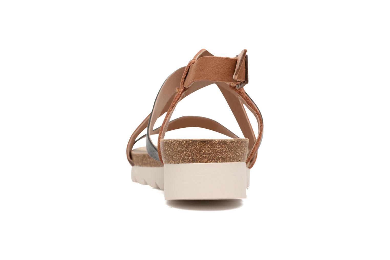 Sandales et nu-pieds P-L-D-M By Palladium Rita Jkt Bleu vue droite