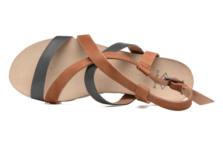 Sandales et nu-pieds P-L-D-M By Palladium Rita Jkt Bleu vue gauche