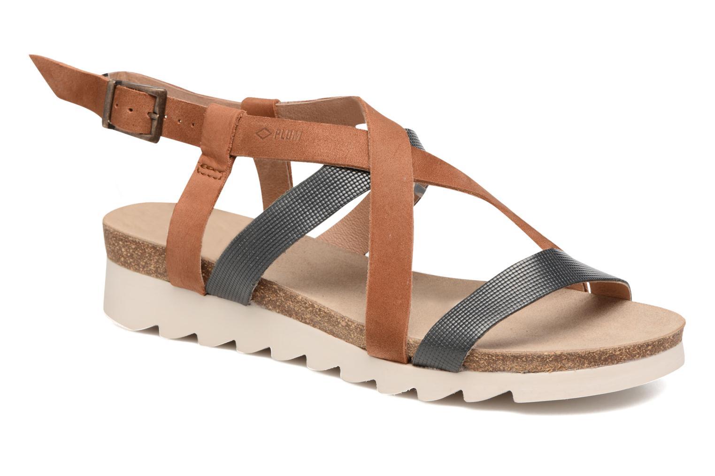 Sandales et nu-pieds P-L-D-M By Palladium Rita Jkt Bleu vue détail/paire