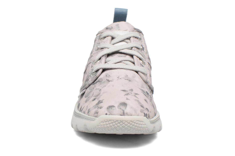 Baskets Palladium Plvil Lo K Gris vue portées chaussures