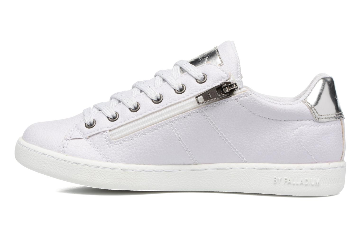 Sneakers P-L-D-M By Palladium Malo Bkl Bianco immagine frontale