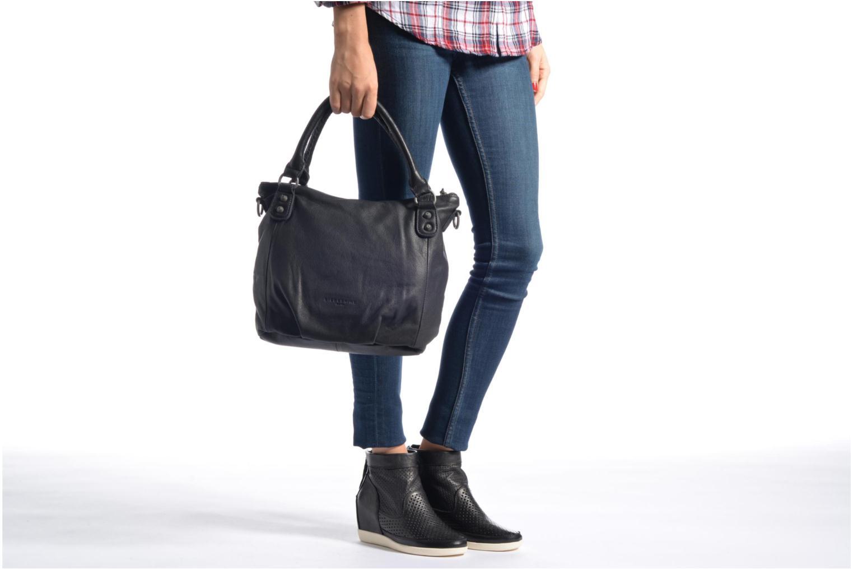Handtaschen Liebeskind Berlin Gina6 schwarz ansicht von oben