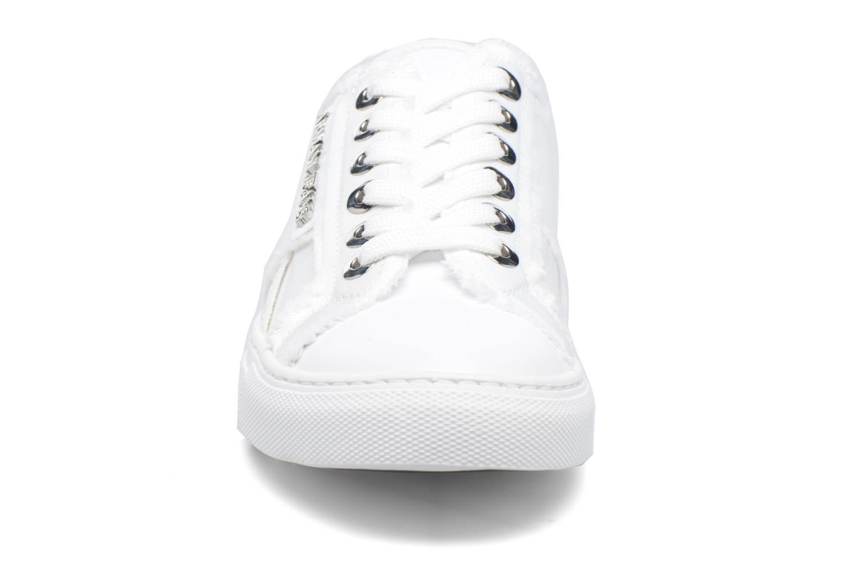 Baskets Armani Jeans Livia Blanc vue portées chaussures