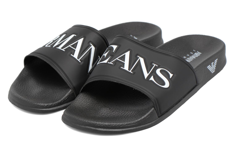 Sandales et nu-pieds Armani Jeans Paciano Noir vue 3/4