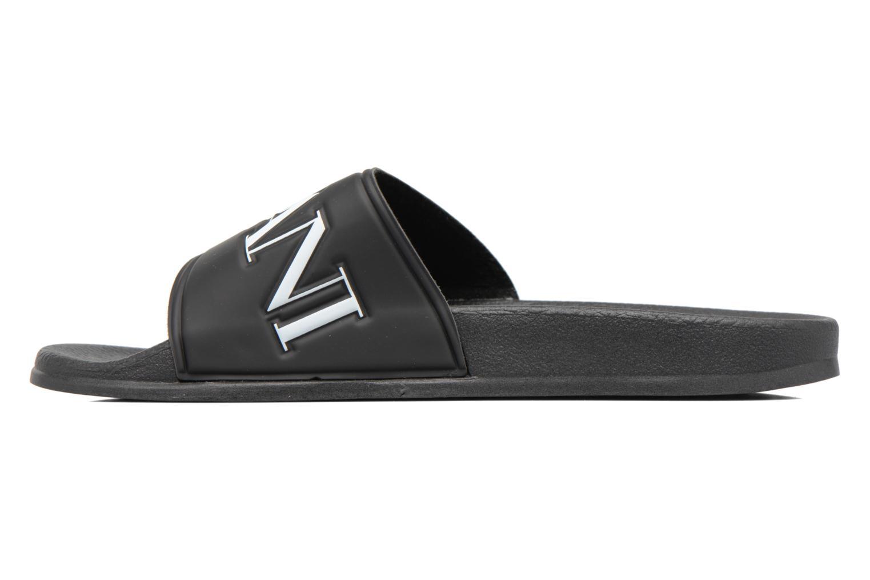Sandales et nu-pieds Armani Jeans Paciano Noir vue face