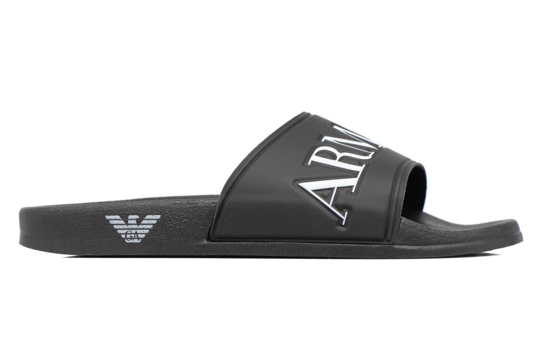 Sandales et nu-pieds Armani Jeans Paciano Noir vue derrière