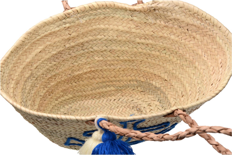 Handtassen Etincelles Panier artisanal Ancre Bleu Blauw achterkant