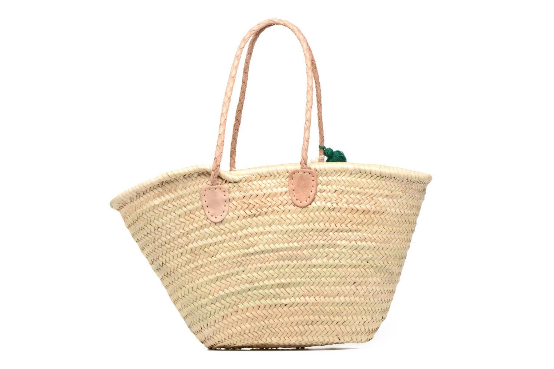 Handtaschen Etincelles Panier artisanal Cactus Vert grün ansicht von vorne