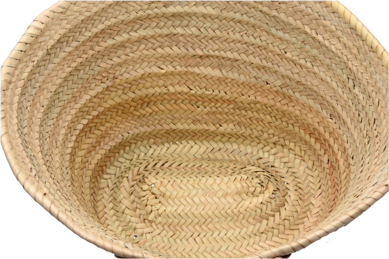 Panier artisanal Etoile Argent Argent