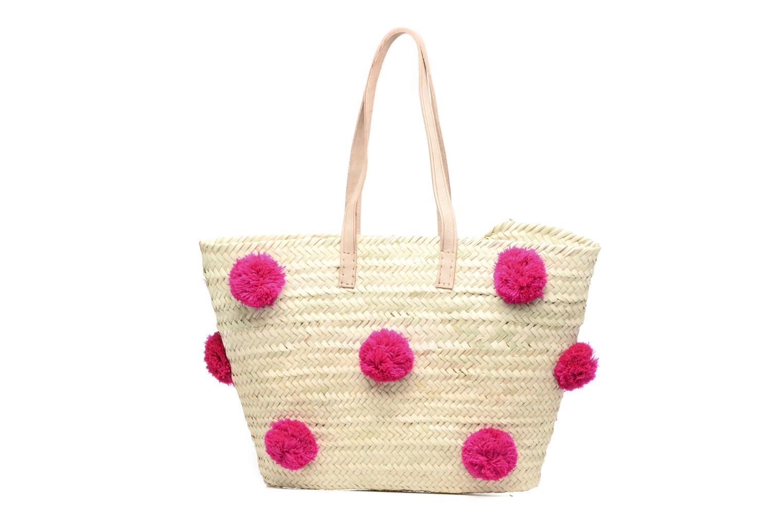 Handtaschen Etincelles Panier artisanal Pompom Fuschia rosa detaillierte ansicht/modell