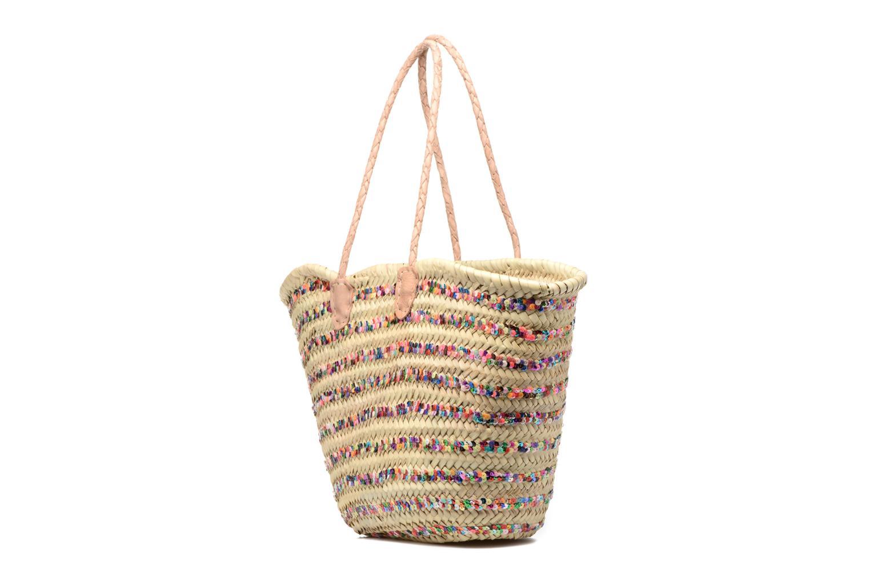 Handtaschen Etincelles Panier artisanal Rayure Sequin Multi mehrfarbig ansicht von rechts