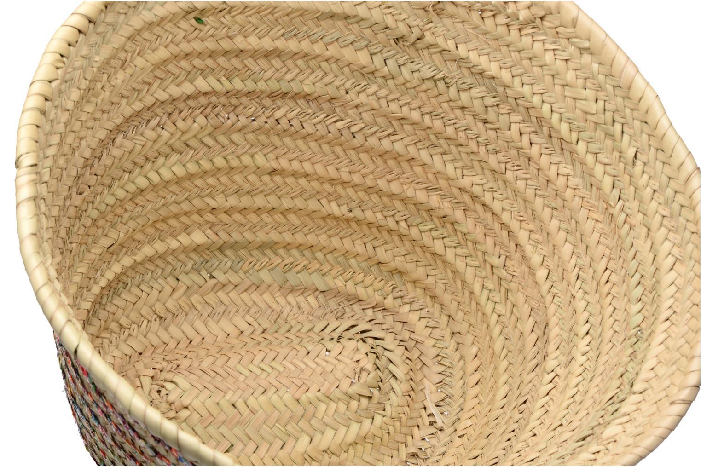 Panier artisanal Rayure Sequin Multi Multi