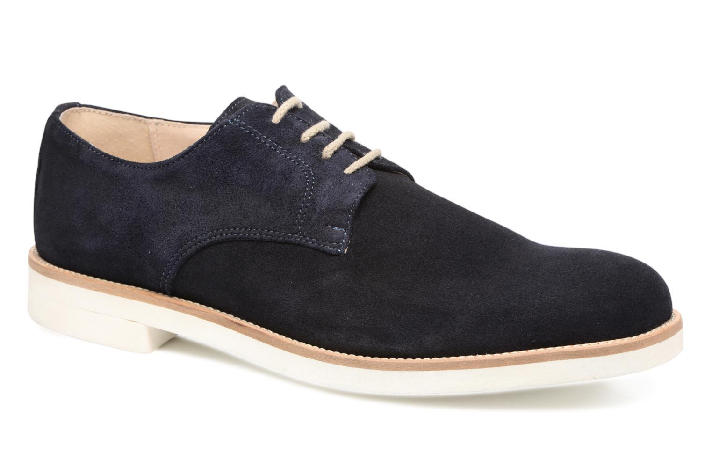 Chaussures à lacets Mr SARENZA Calgary Bleu vue droite