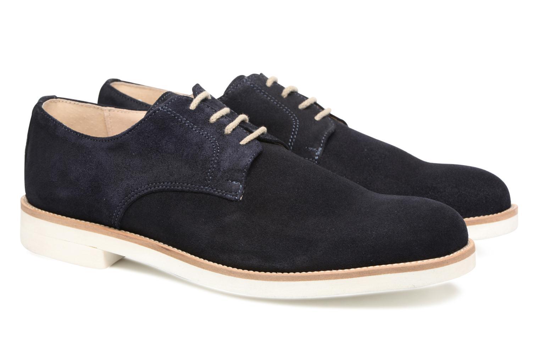 Chaussures à lacets Mr SARENZA Calgary Bleu vue derrière