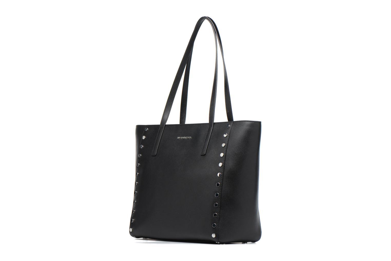 Handbags Michael Michael Kors RIVINGTON LG TOTE Black model view