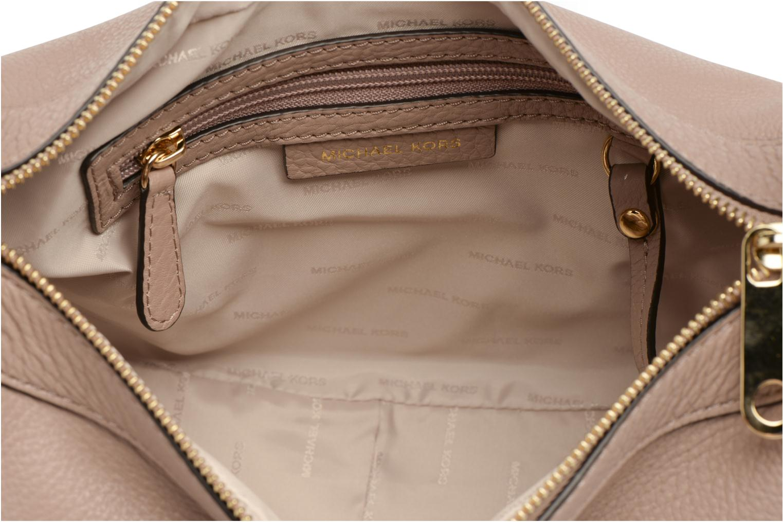 Handtaschen Michael Michael Kors RAVEN MD MESSENGER rosa ansicht von links