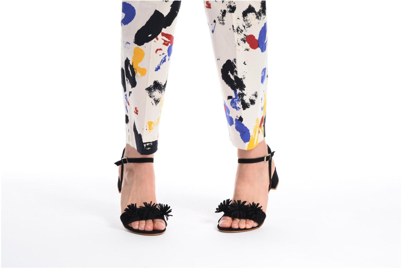 Sandales et nu-pieds Made by SARENZA Frida Banana #16 Bleu vue bas / vue portée sac