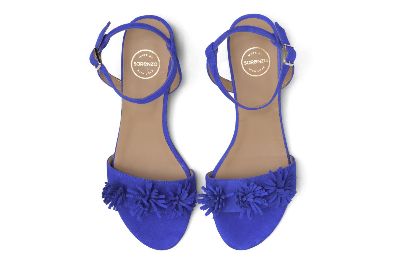 Sandales et nu-pieds Made by SARENZA Frida Banana #16 Bleu vue portées chaussures